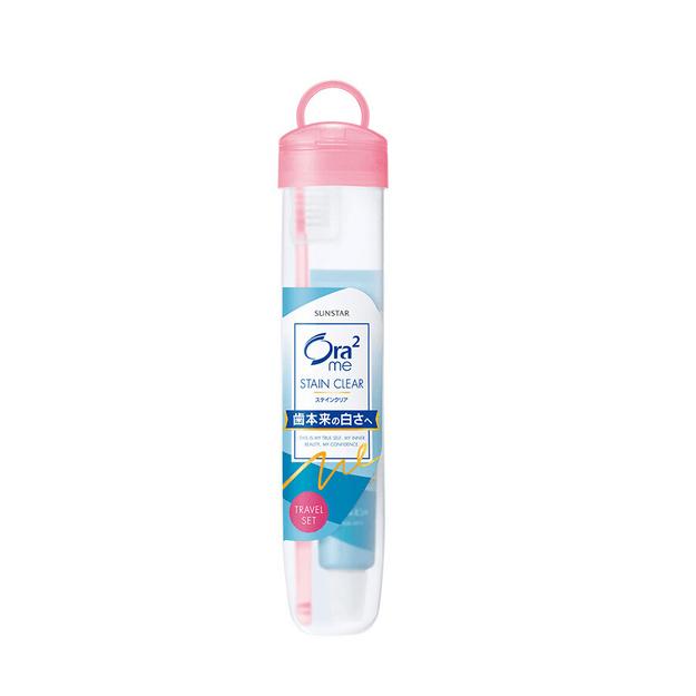 商品详情 - 日本 SUNSTAR ORA2 旅行牙膏牙刷混合套装 (软盒) 1pcs - image  0