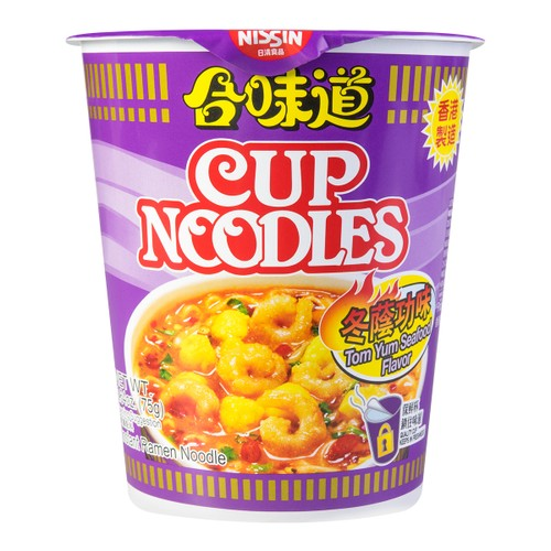 NISSIN Cup Noodles Instant Noodle Tom Yum Goong Flavor 75g