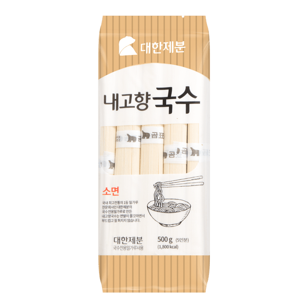 Product Detail - JAYONE Daehan Flour Dried Noodle  Somen 500g - image 0