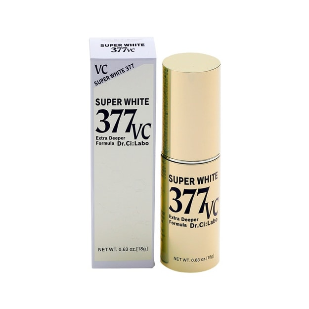 Product Detail - DR.CI:LABO  SUPER WHITE 377 VC 18g - image 0