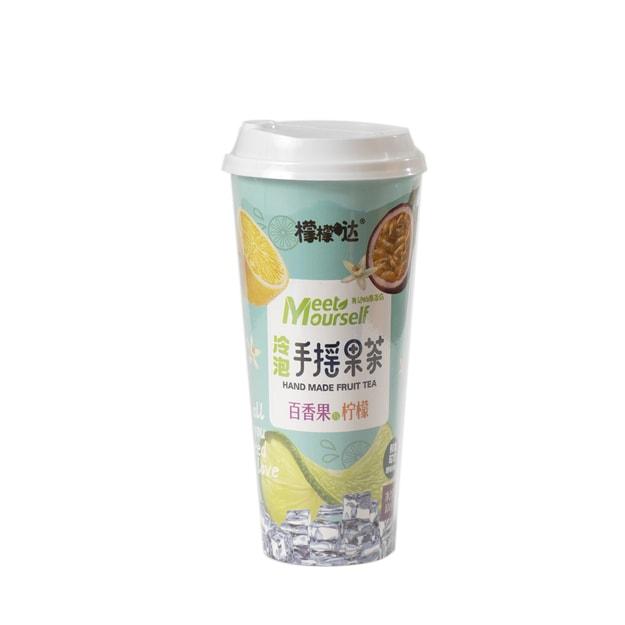商品详情 - 檬檬哒 手摇果茶 百香果柠檬 100g - image  0