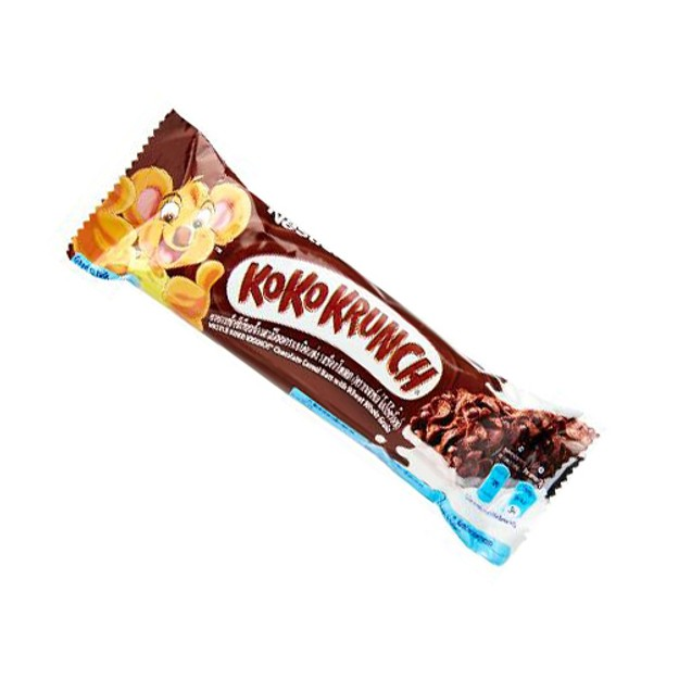 商品详情 - 【马来西亚直邮】 瑞士 NESTLE 雀巢 可可脆片巧克力能量棒 25g - image  0