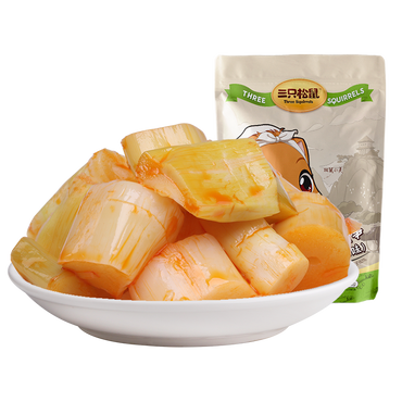 THREE SQUIRRELS-Crispy bamboo shoots 192g