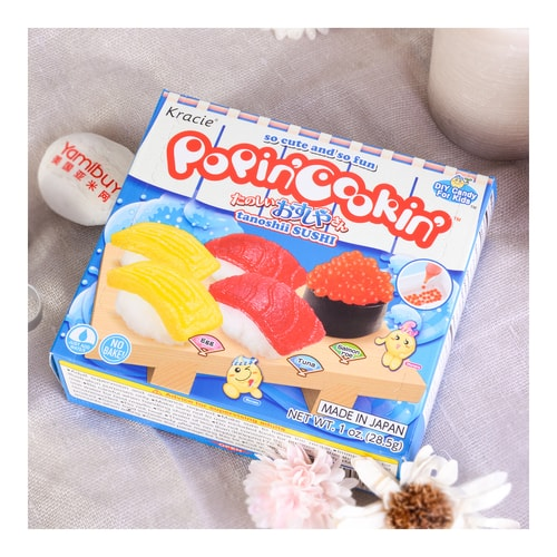 KRACIE Popin' Cookin' DIY Gummy Sushi Kit 28.5g