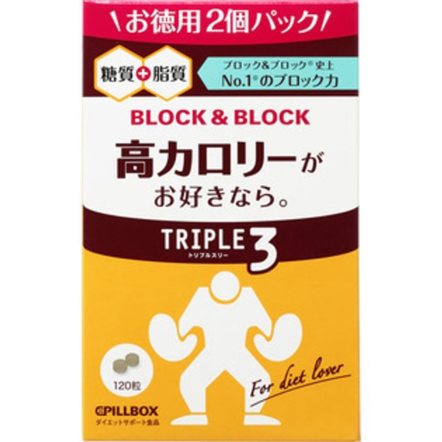 Product Detail - PILLBOX Block block Thermal Control 120 capsules - image 0