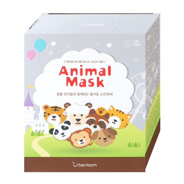 Product Detail - BERRISOM Assorted Animal Mask Pack Box 7 pcs - image 0