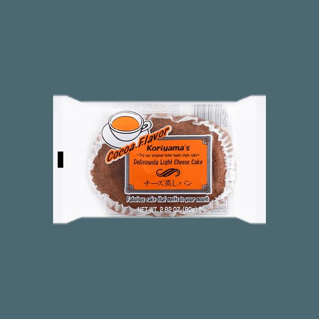 商品详情 - 【冷冻】日本KORIYAMA 芝士蛋糕 可可味 79g - image  0