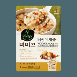 CJ Rice Porridge with mushrooms & vegetables 280g