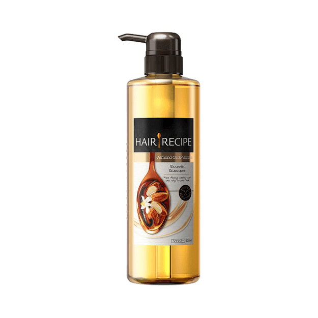 Product Detail - P&G Hair Recipe Almond Oil And Vanilla Smooth Shampoo 530ml - image 0