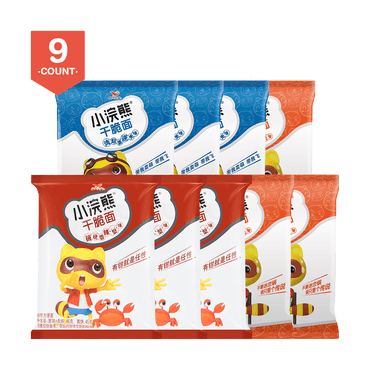 【Gift Pack】Crispy Noodle Snack (3 Flavors Included) 414g