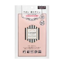 日本LAVONS LE LINGE 除湿消臭香氛三合一室内芳香袋 神秘花香 20g