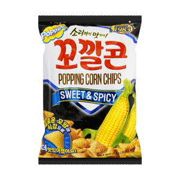 LOTTE Sweet Spicy Corn Snack 72g