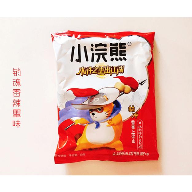 商品详情 - 统一小浣熊干脆面 销魂香辣蟹味 40g - image  0