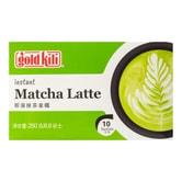 新加坡GOLDKILI金麒麟 即溶抹茶拿铁 10包入 250g