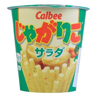 日本CALBEE卡乐B JAGARIKO杯装薯条 沙拉味 60g 6/1/2017