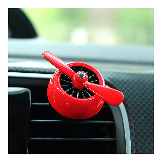 Product Detail - LORDUPHOLD Air Force 2 Creative Car Outlet Vent Clip Air Freshener Perfume Fragrance Scent Smell Red 1 pcs - image 0