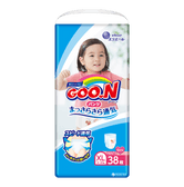 GOO.N Baby Diaper Soft Pants for Girls Type XL Size 12-20kg 38Pcs