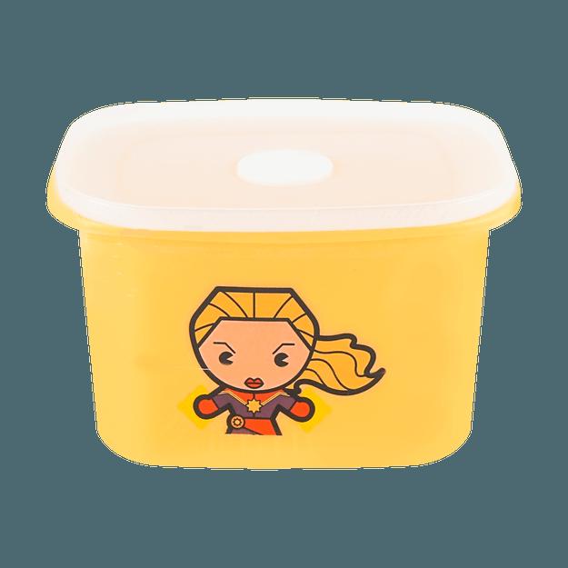 商品详情 - 名创优品Miniso 漫威卡通系列 保鲜盒400ml, 惊奇队长 - image  0