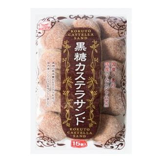 日本万国屋 黑糖夹心小蛋糕 15个入 170g