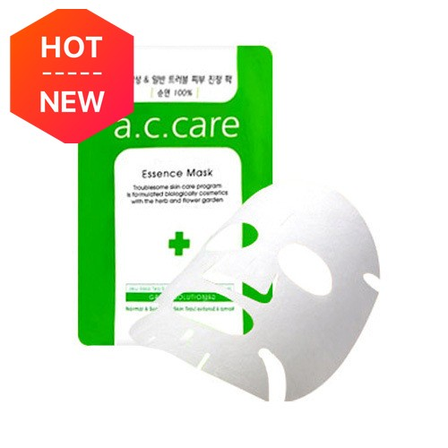 A.C. CARE Green Solution Essence Mask 10sheets