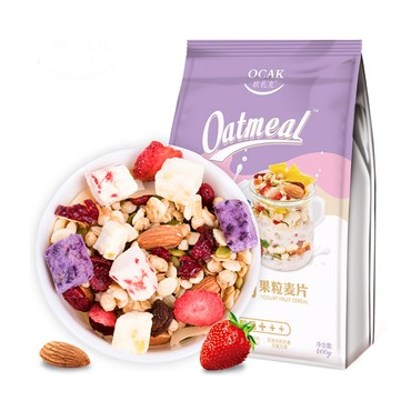 OCAK Yogurt Fruit Nuts Dry Snack Lactic Acid Fruit Oats 400g