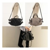 MAGZERO [27th Pre-Order] Origin Korea Women Knot Shoulder Bag Black
