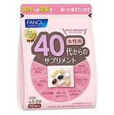 FANCL Good Choice 40's Women Health Supplement 30 bags Japan