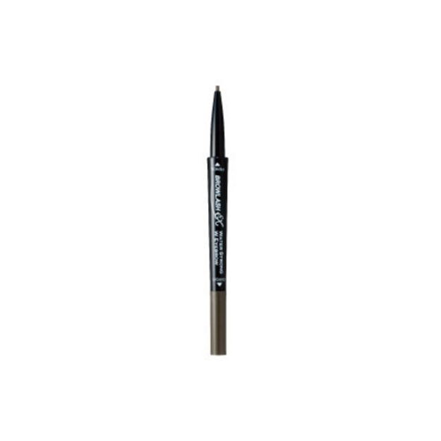 BCL BROWLASH EX Eyebrow Pencil & Liquid (Grayish Brown)