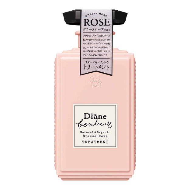 Product Detail - MOIST DIANE BONHEUR Natural & Organic Treatment Grasse Rose 500ml - image 0