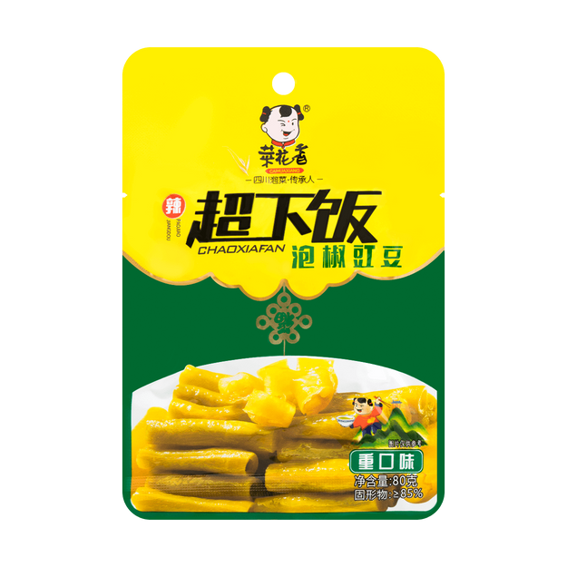 商品详情 - 菜花香 超下饭 泡椒豇豆 重口味 80g - image  0