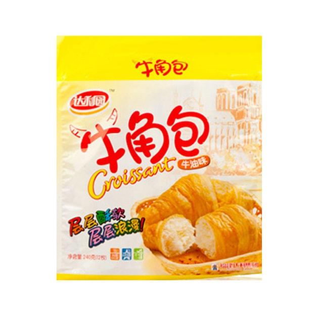 商品详情 - 达利园 层层酥软 牛角包 牛油味 240g - image  0