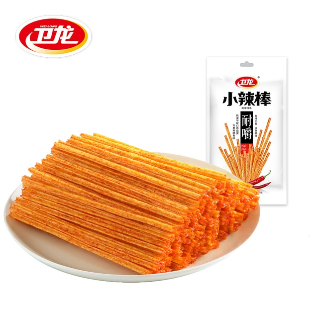 Product Detail - WeiLong Web Celebrity Spicy Dry Tofu Chewy Little Spicy Stick 50g*5 - image 0