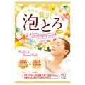 日本COW牛乳石硷共进社 精油嫩肤泡泡浴 袋装泡澡浴盐沐浴 #鸡蛋花香
