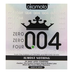 Adult toy OKAMOTO 004 Ultra Thin Condom 24 Pcs