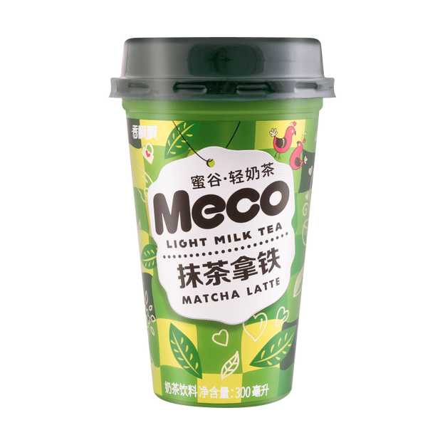 Product Detail - XIANGPIAOPIAO Meco Matcha Latte Milk Tea 300ml - image 0