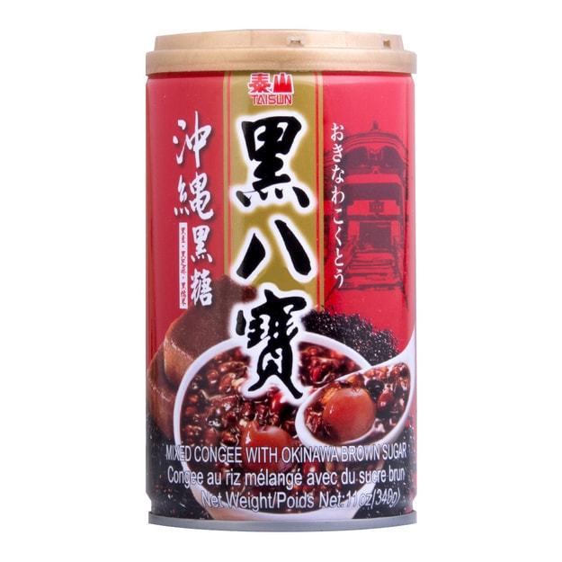 Product Detail - TAISUN Mixed Congee with Okinawa Brown Sugar 340g - image 0