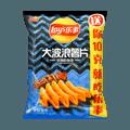 百事LAY'S乐事 大波浪薯片 铁板鱿鱼味 袋装 70g 包装随机发