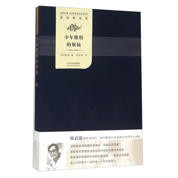 商品详情 - 歌德精选集:少年维特的烦恼 - image  0