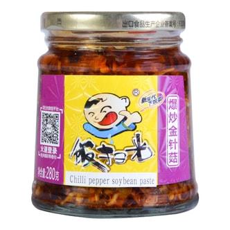 四川高福记 饭扫光 爆炒金针菇下饭菜 280g