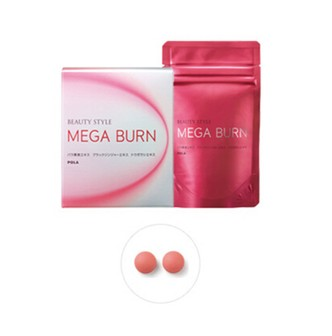 POLA MEGA BURN Rose Hips Essence Reduced Fat Pill 180Grains