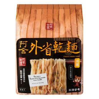 A-SHA Mandrain Noodle with Green Onion 5packs 475g