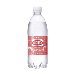 【临期特惠】日本ASAHI 微炭酸透明饮料 白桃口味 470ml
