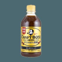 日本SUNTORY Craft Boss 微糖咖啡 精选巴西豆 季节限定烘焙款 479g