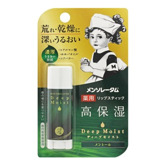 ROHTO MENTHOLATUM Deep Moist Lip Balm in Menthol 4.5g