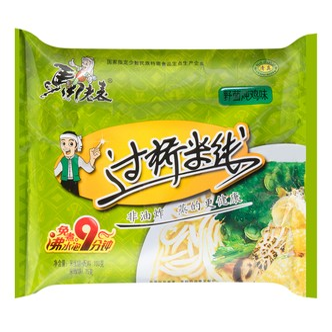 MALABIAO Instant Rice Vermicelli Mashroom Chicken Flavor 100g