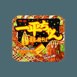 日本MYOJO明星 超级王牌拉面 一平酱 夜店炒面 芥末蛋黄酱味 134g (不同包装随机发)