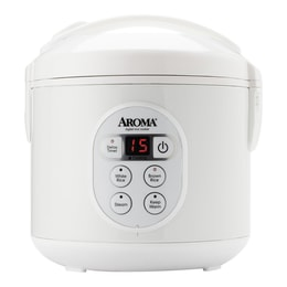 AROMA Digital Rice Cooker and Food Steamer 8-Cup Cooked Rice ARC-914D (2 Year Manufacturer Warranty)