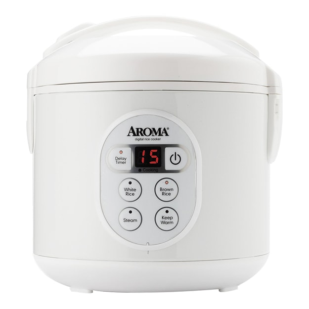 AROMA 8-Cup Digital Rice Cooker and Food Steamer ARC-914D (2 Year Manufacturer Warranty)