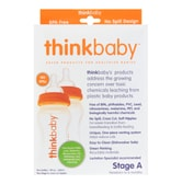 THINKBABY Twin Pack - Stage A Baby Bottle Under 6 Months 6ml 260ml