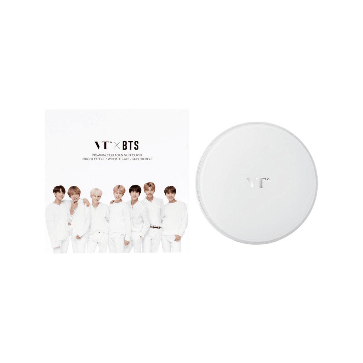 Yamibuy.com:Customer reviews:VT X BTS Collagen Pact White #23 Natural Beige